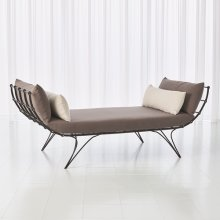 Artisan Daybed w/Grey and Light Grey Cushions