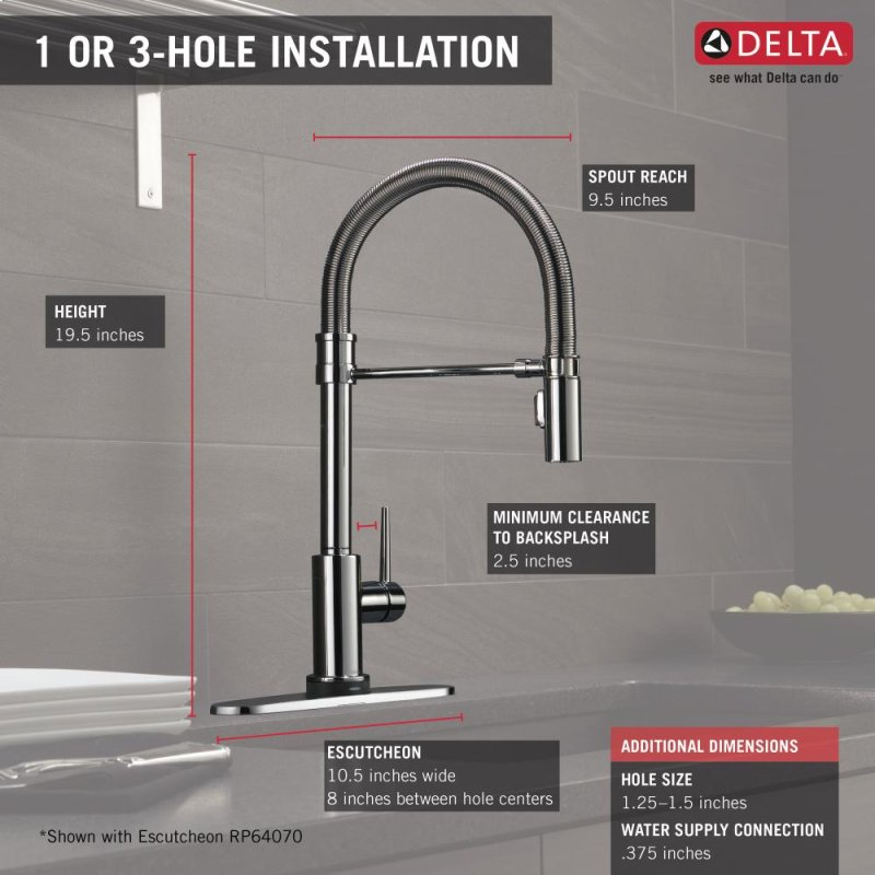 9659tdst In Chrome By Delta Faucet Company In King Of Prussia Pa