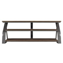 "This sleek and stylish TV stand for TVs up to 65"" or up to 90 lbs. features..."