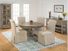 Slater Mill Round To Oval Dining Table- Pedestal Base Only