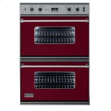 """Burgundy 36"""" Double Electric Oven - VEDO (36"""" Double Electric Oven)"""