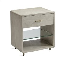 Alma Bedside Chest - Taupe