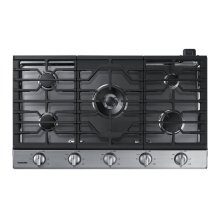 """36"""" Gas Cooktop with 19K BTU Dual Burner, NA36N6555TS/AA (Stainless)"""