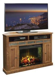 """Oak Creek 56"""" Corner Fireplace"""