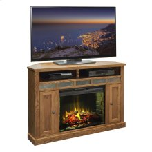"Oak Creek 56"" Corner Fireplace"