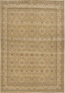 Hard To Find Sizes Persian Empire Pe24 Ltgld Rectangle Rug 13' X 18'