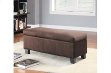 Lift-Top Storage Bench, Chocolate