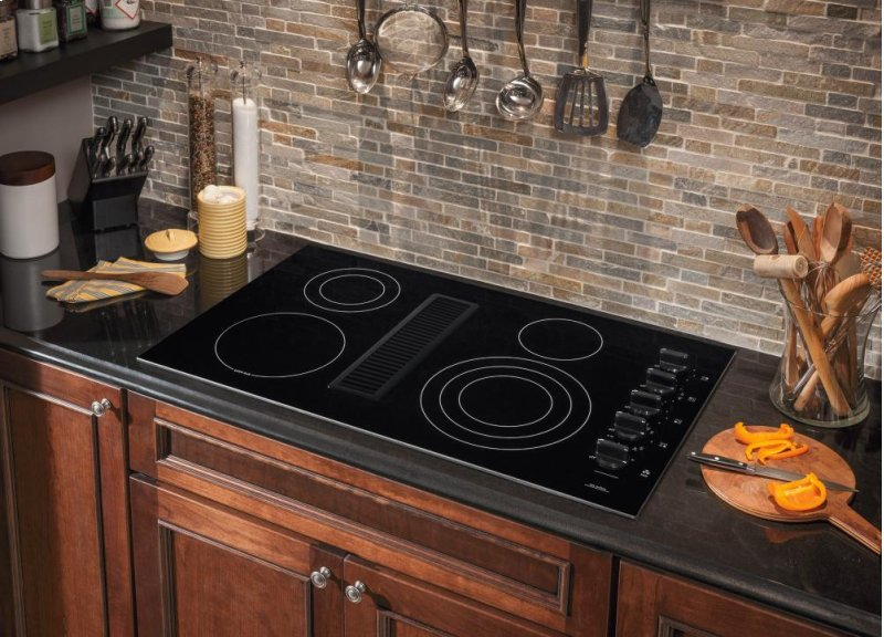36 Electric Downdraft Cooktop