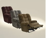 """""""Lay Flat"""" Recliner w/Ext Otto - Basil Product Image"""