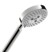 Chrome Handshower 100 3-Jet, 2.5 GPM