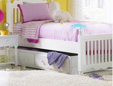 Lauren Twin Trundle Drawer - White