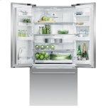 """Fisher & Paykel Freestanding French Door Refrigerator Freezer, 32"""", 17 Cu Ft"""