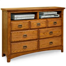 Bedroom - Pasadena Revival Entertainment Chest