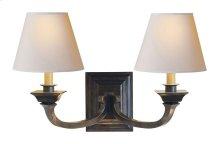 Visual Comfort MS2013BZ-NP Michael S Smith Edgartown 2 Light 22 inch Bronze Decorative Wall Light