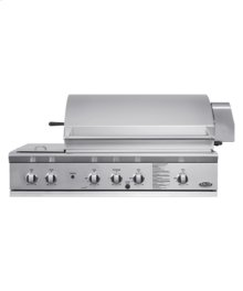 """48"""" Built-in Grill & Side Burners"""