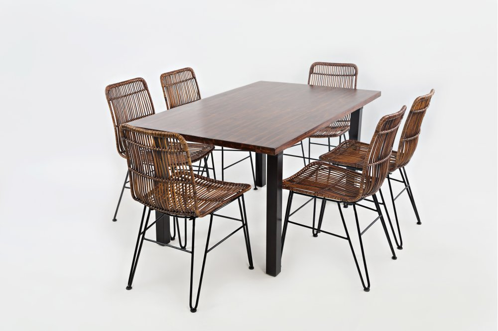 Urban Dweller Dining Table With Six Chairs