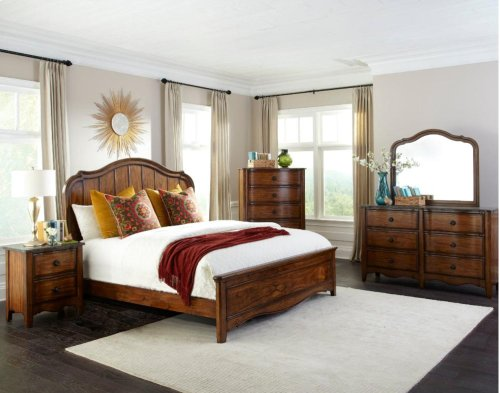 Luciano Queen Upholstered Bed
