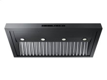 """Modernist 48"""" Wall Hood, Graphite Stainless Steel"""