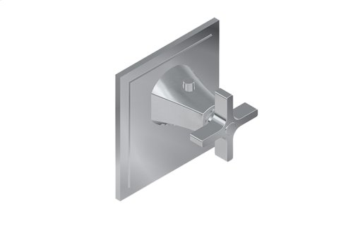 Finezza DUE Thermostatic Valve Trim Plate and Handle