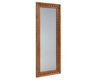 Bench Tall Scallop Floor Mirror