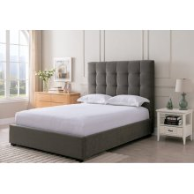 Paramount Pewter - King Size Bed