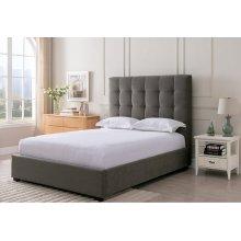 Paramount Pewter - King Size Bed