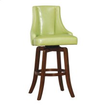"29""Seat Height PUB Stool, Green P/U"