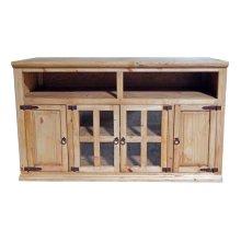 TV Stand 4dr-2/open Top Shelf