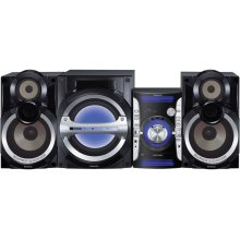 Aggressive Styling with deep bass sound, MP3 playback via USB Port and 3-Way Speaker design