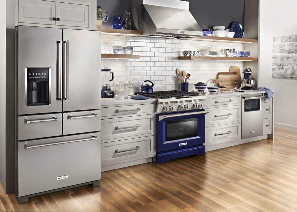 KDRS407VBU Kitchenaid KitchenAid® 30\'\' 4-Burner Dual Fuel ...