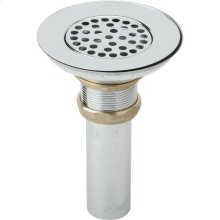 "Elkay 3-1/2"" Drain Type 304 Stainless Steel Body, Strainer and Tailpiece"