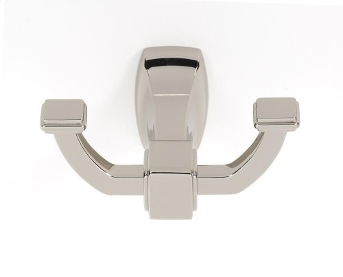 Cube Robe Hook A6584 - Polished Nickel