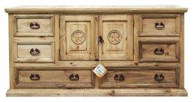 2 Door 6 Drawers Dresser Star