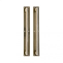 "Metro Pull/Pull Set- 2 1/4"" x 17"" Silicon Bronze Brushed"