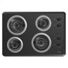 30-inch Electric Cooktop with 4 Elements - black Product Image