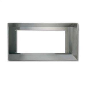 """Broan Elite 36"""" wide Custom Hood Liner to fit RMP17004 or RMPE7004 Inserts, in Stainless Steel"""