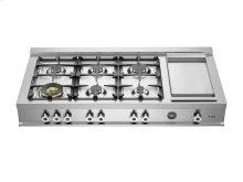 48 Rangetop 6-burner Stainless