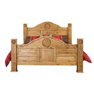 King Bed W/Rope and Star