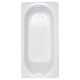 Princeton 60x34 inch Integral Apron Bathtub with Luxury Ledge  American Standard - Bone