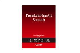 Canon Photo Paper Premium Fine Art Smooth 8.5x11 (25 Sheets) FA-SM1 LTR(25)