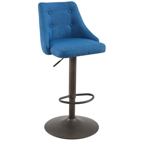 Adyson Air Lift Stool, set of 2, in Blue