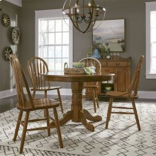 5 Piece Round Table Set
