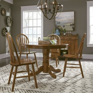 LIBERTY FURNITURE INDUSTRIES5 Piece Round Table Set