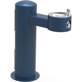 Elkay Outdoor Fountain Pedestal Non-Filtered Non-Refrigerated, Blue