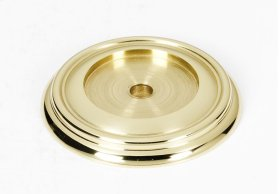 Charlie's Collection Backplate A616-38 - Polished Brass