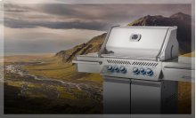 PRESTIGE PRO 500 WITH INFRARED SIDE AND REAR BURNERS