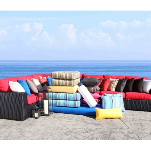 "Patio Furniture Cushions & Outdoor Pillows : 11"" x 18"" Pillow"