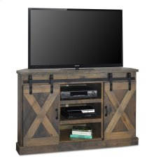 "Famhouse Farmhouse 56"" Corner TV Console"