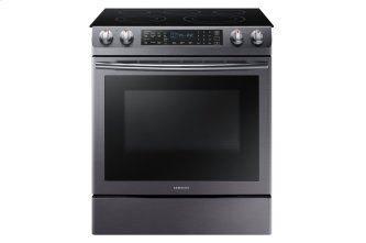 Samsung Slide-in Electric Range With 5 Burners And Dual Convection Oven, NE58R9430