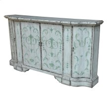 Marabel 4 Door Shaped Credenza